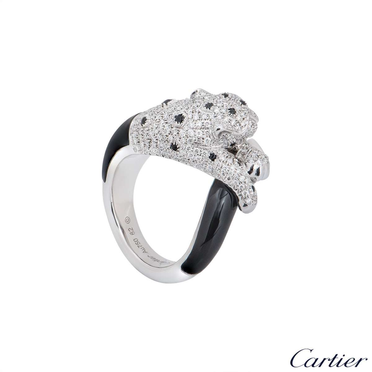 Cartier White Gold Panthere de Cartier Ring H4275500